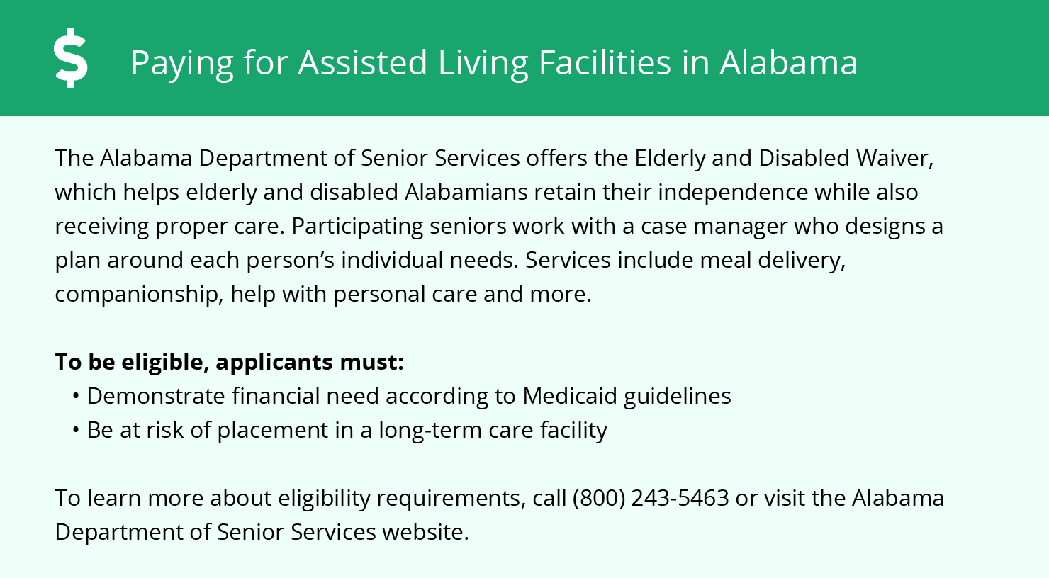 Financial Assistance in Alabama