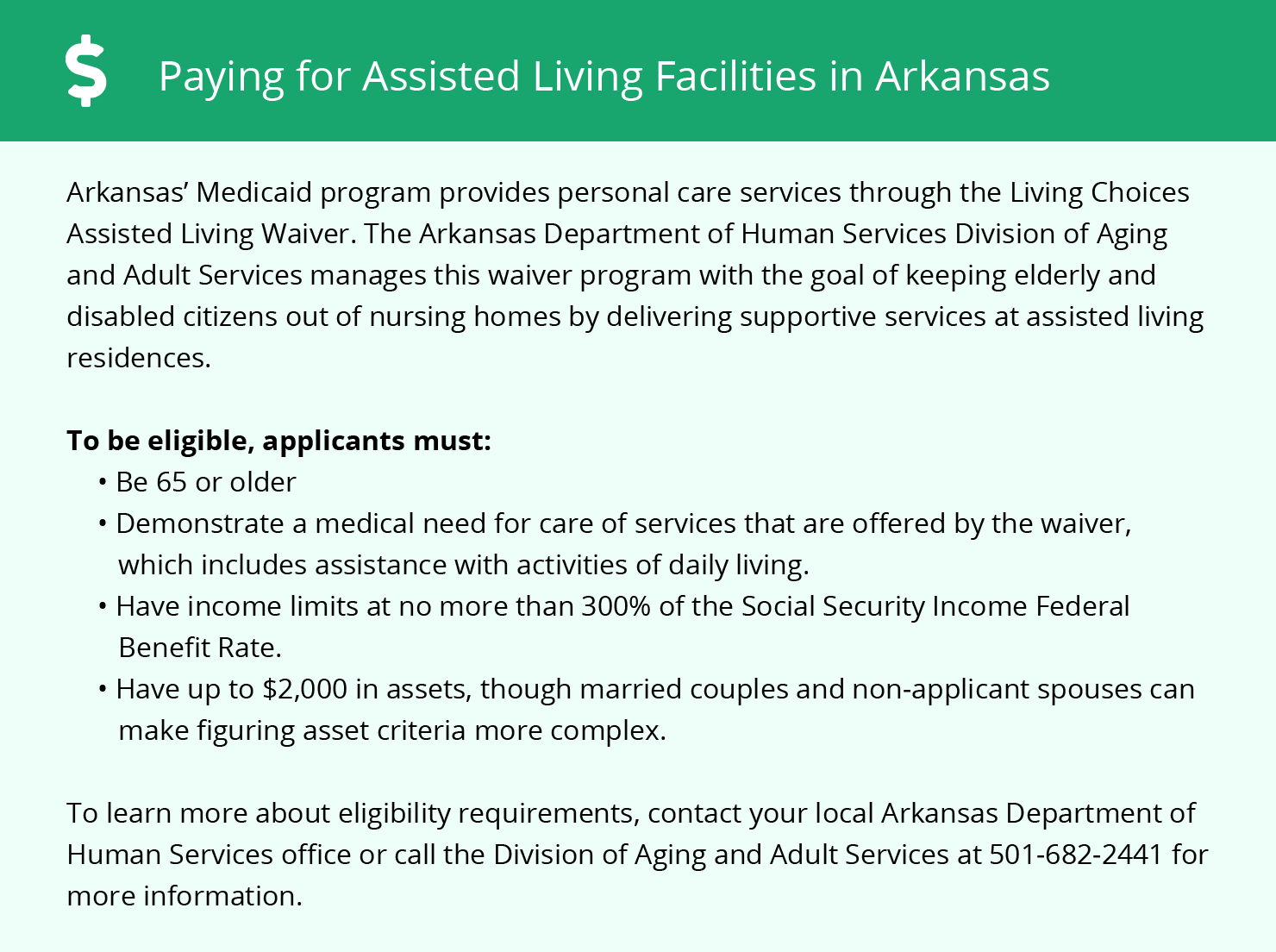 Financial Assistance in Arkansas