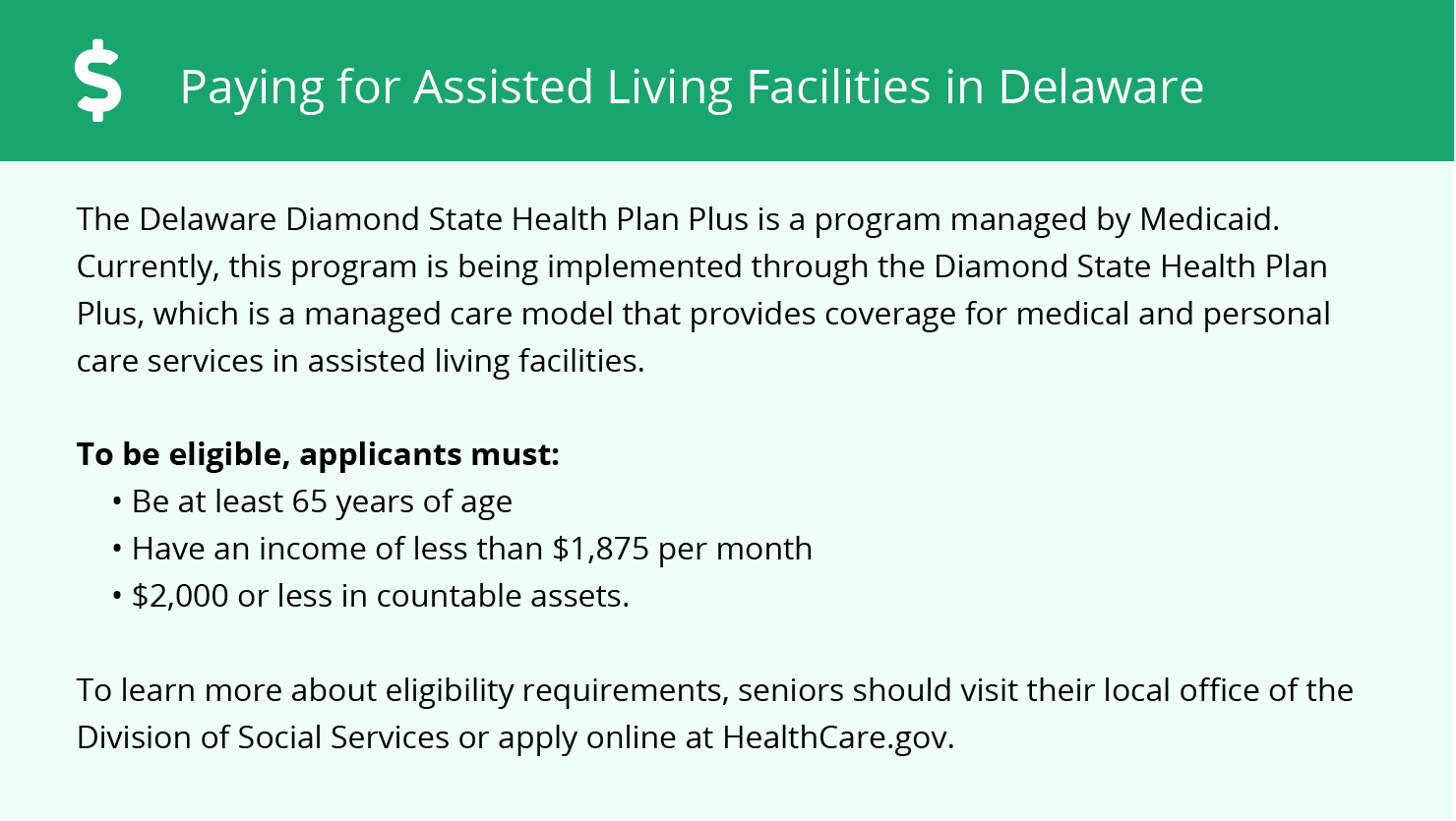 Financial Assistance in Delaware