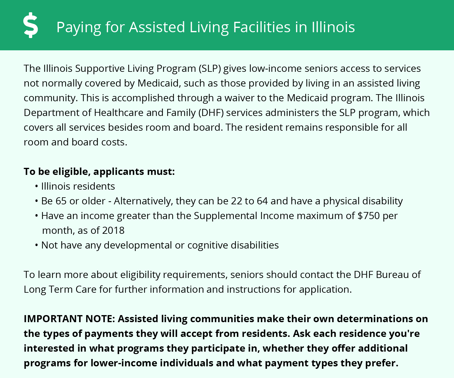 Financial Assistance in Illinois