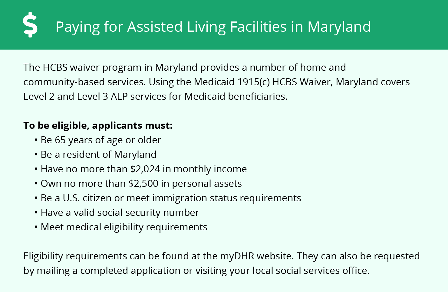 Financial Assistance in Maryland