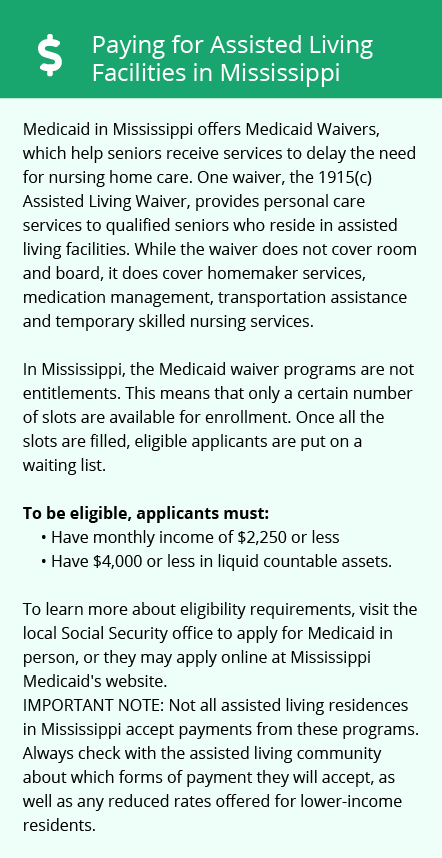Financial Assistance in Mississippi