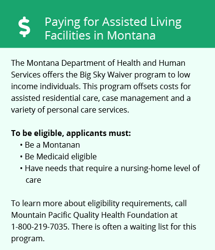 Financial Assistance in Montana