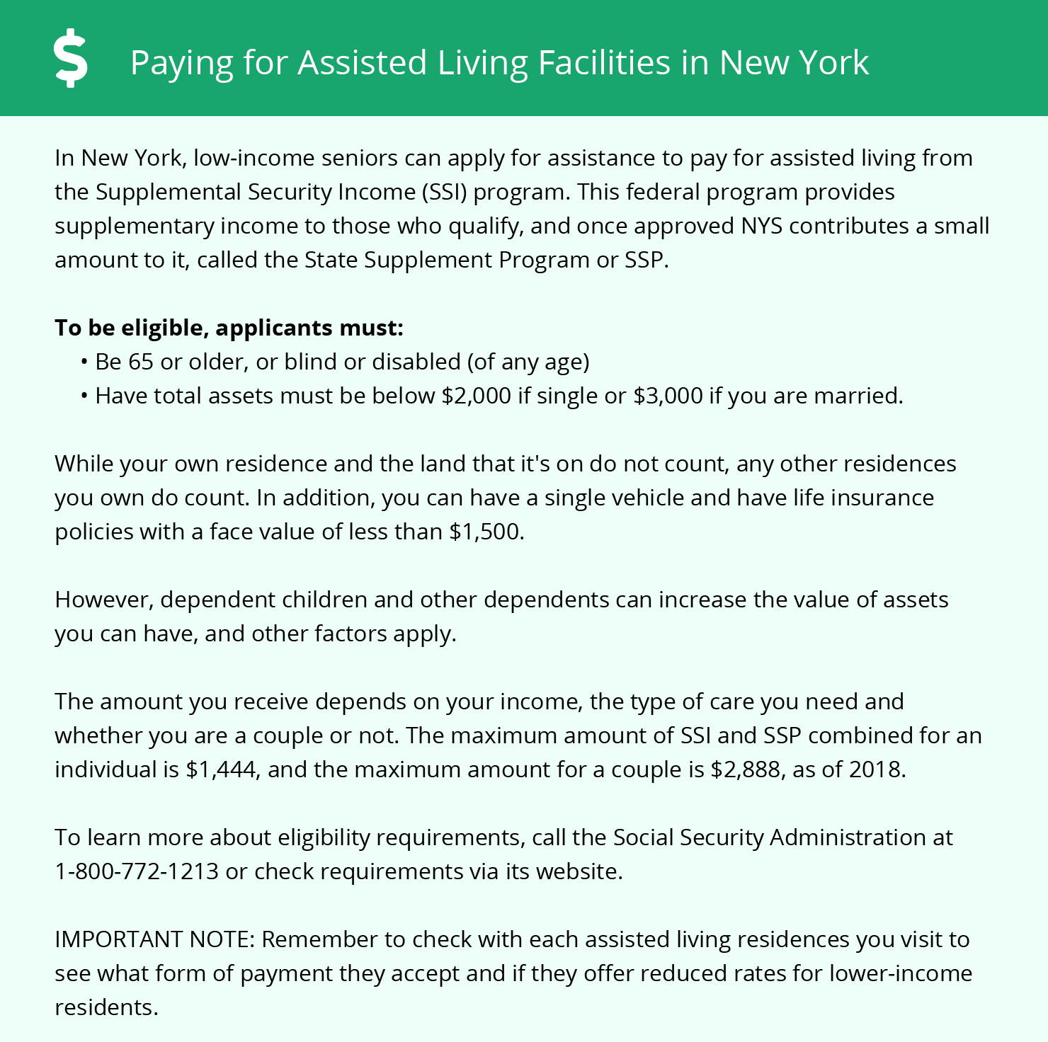 Financial Assistance in New York