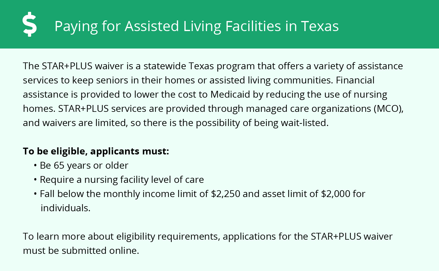 Financial Assistance in Texas
