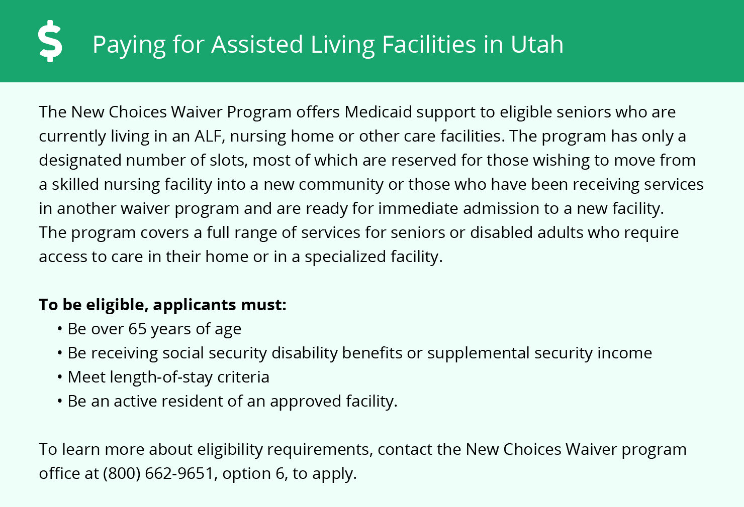Financial Assistance in Utah