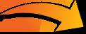 橙色箭头122x49