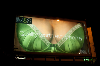 M&S Cleavage