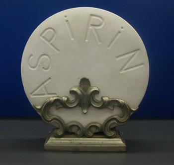 aspirin close up