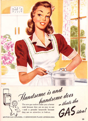 1947--babes' cook with gas 02