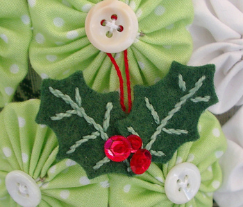 holly berry ornament / win one of each ornament find out how on my blog