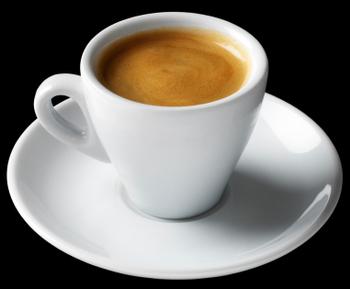 Short Black Espresso Coffee