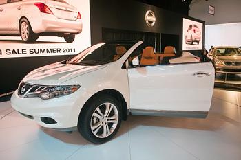 Nissan Murano Convertible