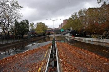 Hurricane Sandy Flooding FDR Drive 2012