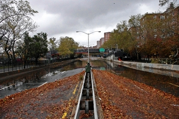 Hurricane Sandy Flooding FDR Drive 2012