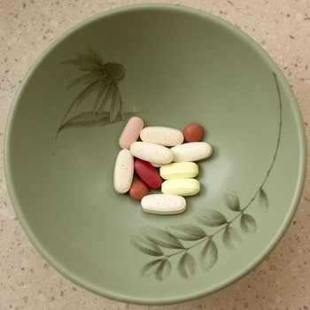 Bowl of pills