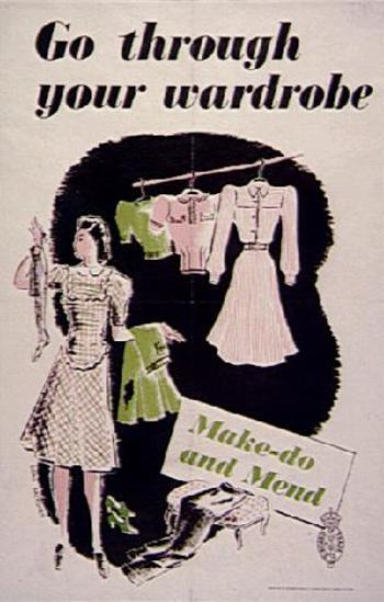 GO THROUGH YOUR WARDROBE - MAKE AND MEND - 112