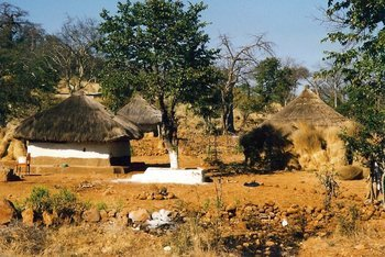 rural village, Zimbabwe