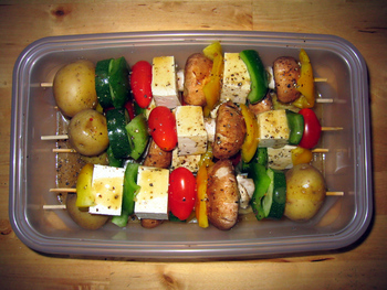 Vegetable Shish Kebabs