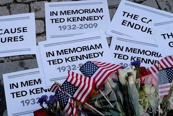 Ted Kennedy Vigil