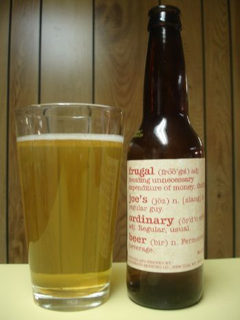 Frugal Joe's Ordinary Beer