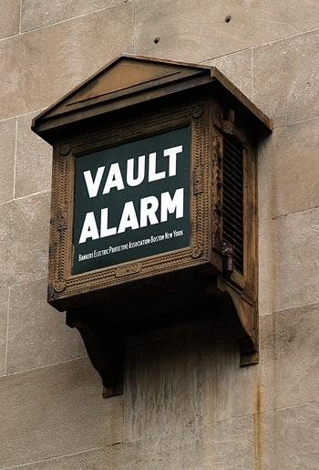 Banker's Electric Protective Association Vault Alarm (Northampton, MA)