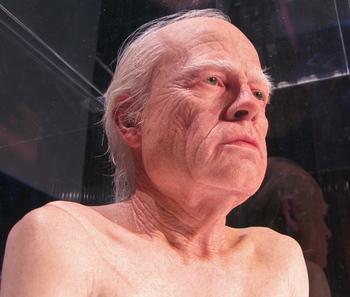 Grandpa Brad Pitt