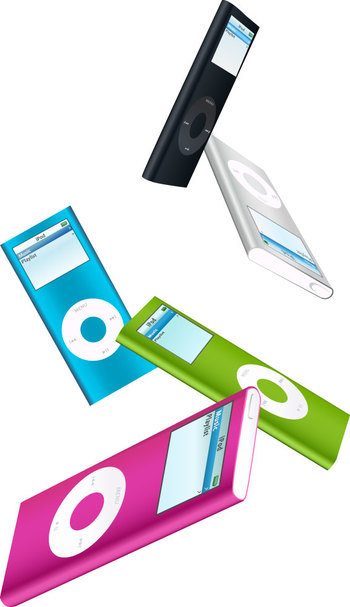 ipod nano vector art
