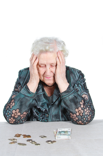 Bigstockphoto poor grandma with russian mone 2755062.jpg